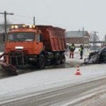 В Кирове водитель «Сузуки» врезался в стоящий «КамАЗ»: один человек госпитализирован
