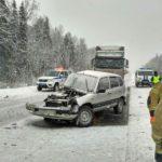 В Мурашинском районе в результате ДТП погибла женщина, еще 5 человек получили травмы
