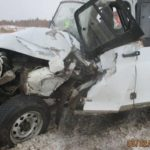 В Вятскополянском районе столкнулись УАЗ и грузовик