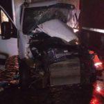 В Юрьянском районе водитель «Ивеко» врезался в «Даф»