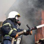 В Лузском районе на пожаре в доме погиб мужчина