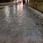 Следком начал проверку по факту смерти мужчины из-за падения на скользком тротуаре в Кирове