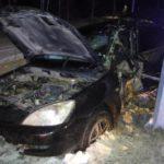 В Кирове автоледи на «Мицубиси» врезалась в опору ЛЭП: женщина госпитализирована