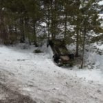 В Оричевском районе водитель иномарки опрокинулся в кювет: госпитализирована женщина-пассажир