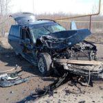 В Вятскополянском районе столкнулись «Рено» и «БМВ»: госпитализирован один человек
