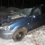 В Свечинском районе в результате столкновения иномарки с грузовиком погибли два человека