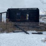 В Даровском на пожаре в частном доме погибли мать с сыном