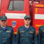 В Уржуме пожарные спасли из огня двух человек