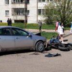 В Кирово-Чепецке в результате ДТП погиб мотоциклист