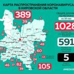 Коронавирус продолжает распространяться в районах Кировской области