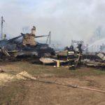 В МЧС сообщили подробности пожара в Белохолуницком районе