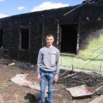 Восьмиклассник из Суны помог спасти женщину-инвалида из горящего дома