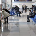 В Кирове в аэропорту сняли с рейса 35-летнюю пьяную женщину
