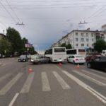 В Кирове произошло тройное ДТП с участием автобуса: пострадали два человека