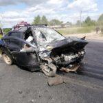 В Кирово-Чепецком районе в столкновении легкового и грузового автомобилей погиб мужчина