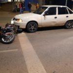 В Кирове водитель иномарки сбил мотоциклиста