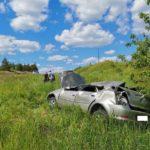 В Малмыжском районе водитель «Рено» опрокинулся в кювет