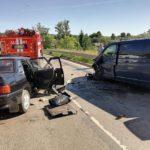 В Нолинском районе в результате столкновения «ВАЗа» с микроавтобусом госпитализированы 5 человек