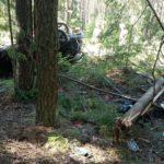 В Слободском районе водитель «Форда» опрокинулся в кювет и скрылся с места ДТП: пострадала 25-летняя девушка