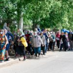 В Кирове заметили многочисленных паломников крестного хода