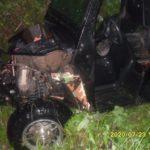 В Кирове пьяный водитель багги опрокинулся в кювет: пострадали два человека