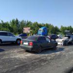 В Кирове водитель «Сузуки» врезался в «Шкоду»: два человека получили травмы
