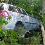 В Котельничском районе водитель «Опеля» вылетел в кювет и врезался в дерево