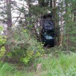 В Санчурском районе водитель иномарки вылетел в кювет: госпитализированы два человека