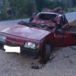 В Шабалинском районе бесправник на «ВАЗе» опрокинулся в кювет: пострадали два человека