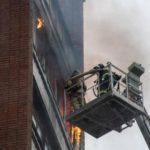 В Кирово-Чепецке произошел пожар в многоквартирном доме
