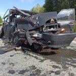 В Юрьянском районе в результате ДТП погибла женщина, еще 7 человек получили травмы