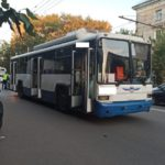 В Кирове водитель троллейбуса насмерть сбил мужчину