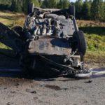 В Свечинском районе водитель «Фольксвагена» столкнулся с грузовиком