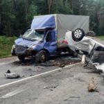 На трассе Киров – Слободской произошло лобовое столкновение «Газели» и «Киа»
