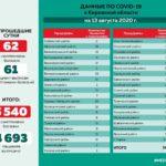 Опубликованы данные о коронавирусе в районах Кировской области