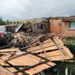 В Кировской области смерч сорвал крыши домов и погубил домашний скот