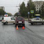 В Кирове в результате столкновения двух «ВАЗов» пострадала 5-летняя девочка