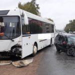 В Кирове в ДТП с автобусом пострадали два человека