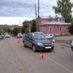 В Нолинске в результате ДТП пострадала 7-летняя девочка