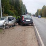 В Слободском районе в тройном ДТП пострадали два человека