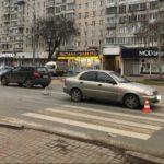 В Кирове автомобилист совершил наезд на пешехода