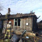 7 октября в двух домах в Кировской области произошли пожары из-за неисправной электропроводки