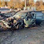 В Кирове пьяный бесправник врезался в ограждение железнодорожного переезда
