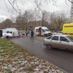 В Кирове в результате ДТП с автомобилем «скорой помощи» пострадали шесть человек