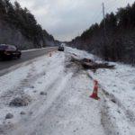 В Слободском районе водитель «ВАЗа» опрокинулся в кювет