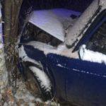 В Советском районе водитель «ВАЗа» вылетел в кювет и врезался в дерево