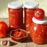 Лечо из перцев и помидоров с кориандром