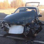 В Котельничском районе столкнулись «ВАЗ» и грузовик: пострадал один человек