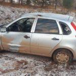В Малмыжском районе женщина-водитель «Калины» вылетела в кювет