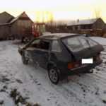 В Орловском районе бесправник на «ВАЗе» опрокинулся в кювет